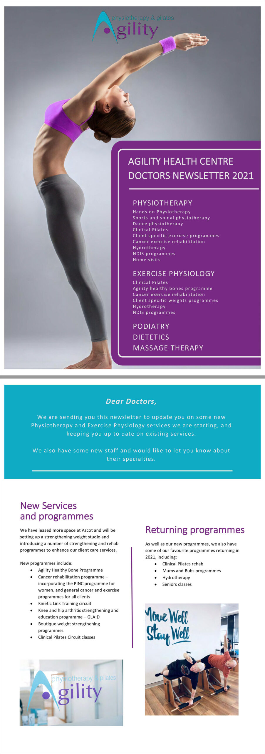 Agility Health Centre Doctors Newsletter