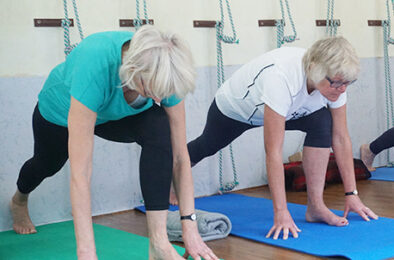 Exercise for elderly with Parkinson's disease